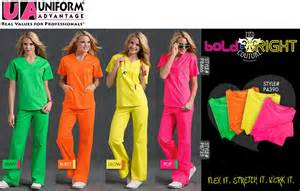 Med Couture Neon Scrubs
