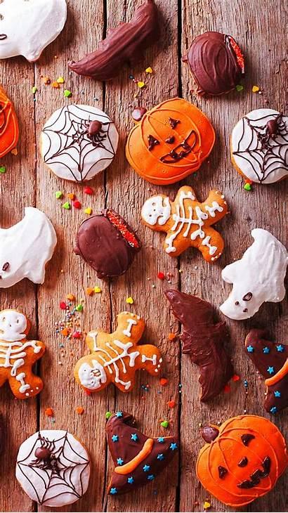 Halloween Iphone Fall Pumpkin Holloween Backgrounds Happy