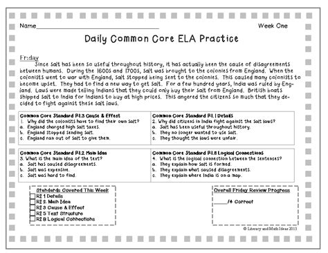 7th grade math common standards worksheets worksheets