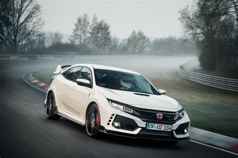 honda civic r 2017 top 10 cars the 2017 honda civic type r beats on the nurburgring 187 autoguide news