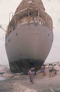 Wreck of the Cherry Venture, 1973 | Queensland Historical ...  Wreck