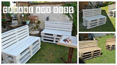 ou vendre canapé palette meuble jardin meuble de jardin en palette de bois