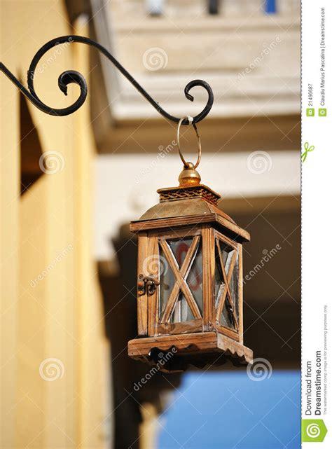 vieille lanterne de rue