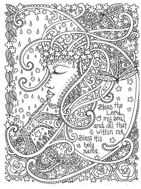 adult coloring prayers  color  deborah muller inspirational messages  faith deborah
