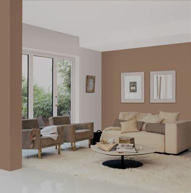 salon peinture et taupe canapé couleur salons