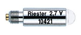 replacement bulbs for 2 7v vacuum light riester uni