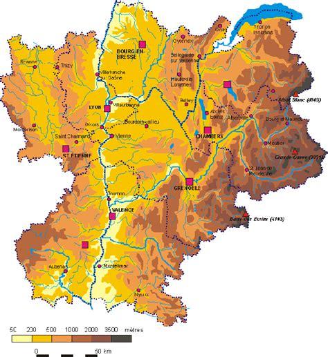 Carte Nouveau Monde 2017 Auvergne Rhone Alpes by Carte De Rh 244 Ne Alpes