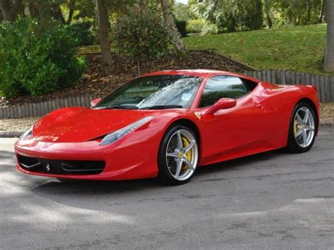 458 Italia For Sale by For Sale 458 Italia 4 5 2dr 2012