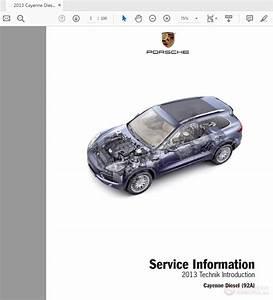 Porsche Cayenne Diesel V6 2013 Pna Cay Dsl 13 Service