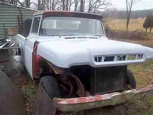 Purchase Used 1959 Ford F100 Truck Inline 6 Cylinder In