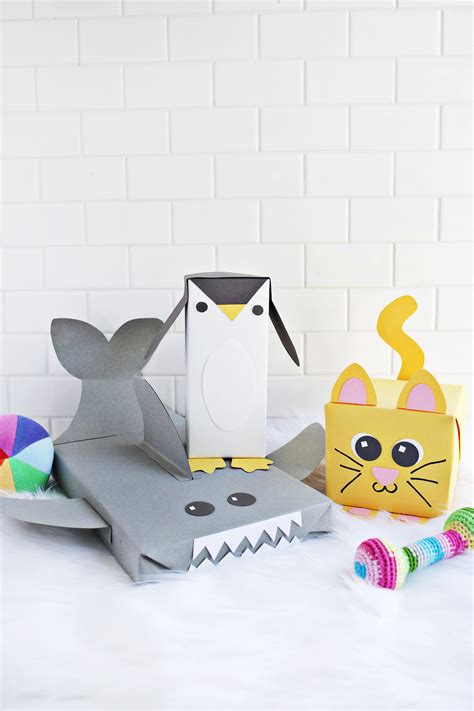 Cute Animal Wrapping Paper Ideas A Beautiful Mess