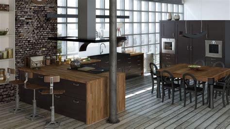 cuisine style loft photos cuisines malo dinard