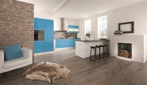 cuisine turquoise et gris fiche cuisine impuls ip4500 bleu turquoise haute brillance