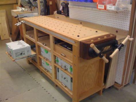 traditional  festool hybrid workbench  systainer