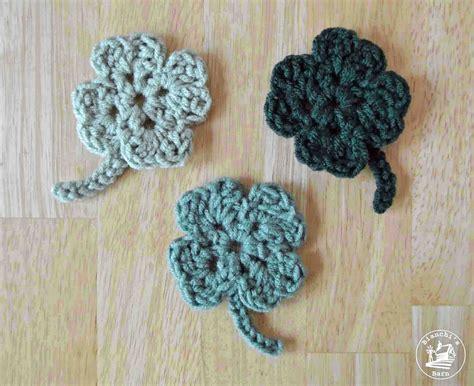 Lucky 4 Leaf Clover Free Crochet Pattern