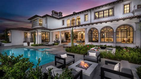 mediterranean mansion  newport coast california robb
