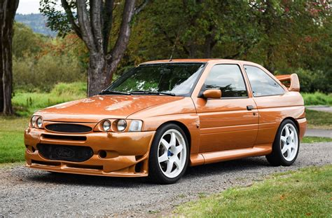Modified 1995 Ford Escort Rs Cosworth For Sale On Bat