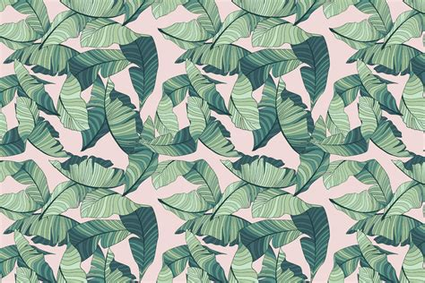 Grey And Turquoise Living Room Decor by Pink And Green Tropical Leaf Wallpaper Murals Wallpaper