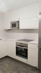 Cocina, Peque, U00f1a, Con, Zona, De, Barra