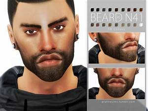 The Sims Resource: Beard Pack N05 by Pralinesims • Sims 4