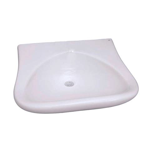ada sinks home depot glacier bay aragon wall mounted bathroom sink in white 13