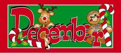 December Month Clipart Birthday Clip Christmas Dec