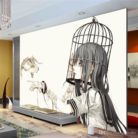 Anime Mural Wallpaper - wall mural pigeon photo wallpaper modern