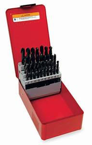 set drill bit letter 26 bits With letter size drill bit set
