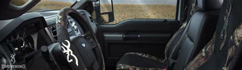 anything browning for your car or truck floor mats seat