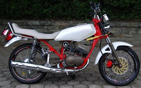 modif used motor yamaha rx king in trend young rider | auto modif-ikasi trend motor and car extreme