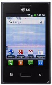 Lg Optimus Dynamic Android Prepaid Phone  Net10