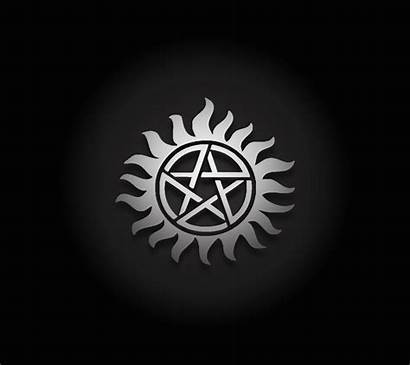 Possession Anti Supernatural Wallpapers Symbol Symbols Sigil