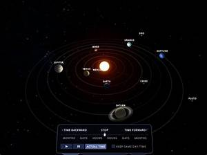 Solar System Scope  Online 3d Simulation Of The Solar