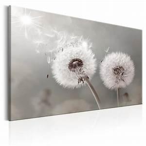 Bild Pusteblume Schwarz Weiß : bilder leinwand bild pusteblume blumen lowenzahn pflanze blau silber wandbilder ebay ~ Bigdaddyawards.com Haus und Dekorationen
