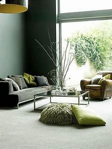 Wandfarben Ideen Wohnzimmer : die besten 25 gr ne wandfarbe ideen auf pinterest gr ne ~ Lizthompson.info Haus und Dekorationen