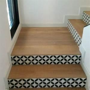 Escalier Carreaux De Ciment : parquet et carreaux de ciment escaliers pinterest ~ Dailycaller-alerts.com Idées de Décoration