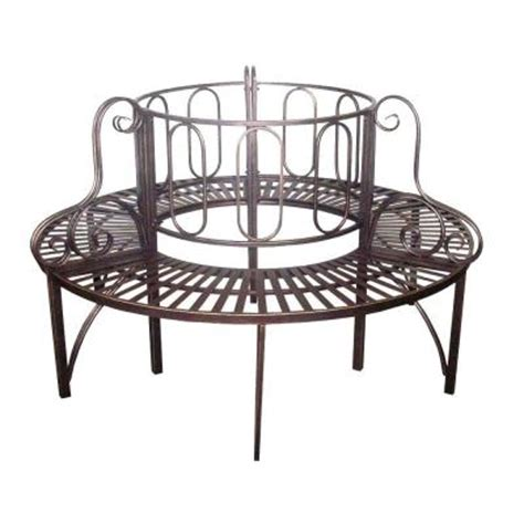 design toscano roundabout garden bench discontinued