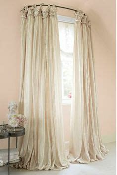 Kohls Double Curtain Rods by Curved Windows On Pinterest Curved Curtain Rod Bow