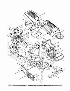 Troy Bilt Riding Lawn Mower Parts Diagram