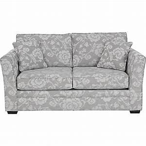 malton floral sofa bed grey natural at homebase be With floral sofa bed