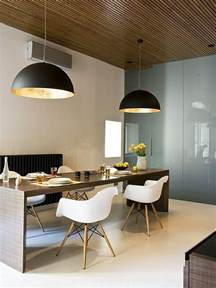 large pendant lights in the dining room modern pendant