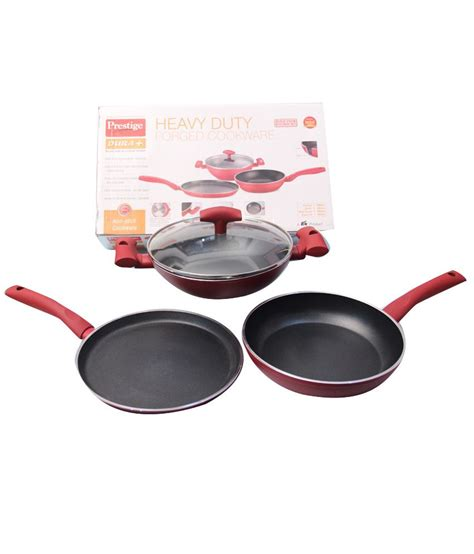 stick prestige non cookware india snapdeal order pcs