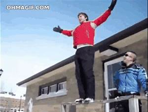 Dude snow jumping fail - Funny Gifs and Animated Gifs