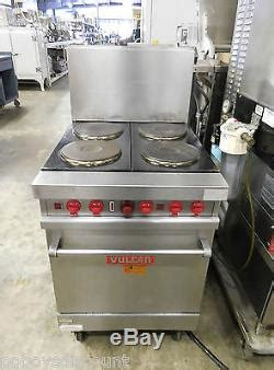 vulcan el   burner electric french plate commercial restaurant range