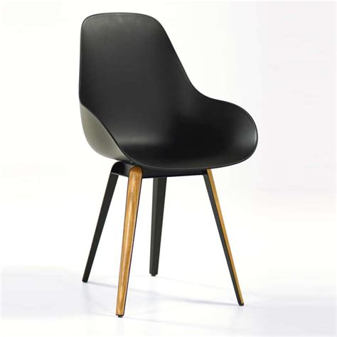 chaise de designer chaise design slice dimple closed kubikoff 4 pieds