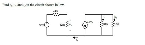 Basic Dependent Source Circuit Problem Electrical