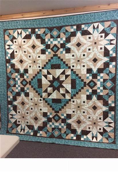 Mystery Sew Creative Block Quilt Ashland Month