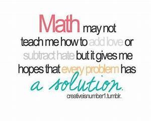 Is It Love Solution : 62 best mathematics quotes ~ Melissatoandfro.com Idées de Décoration
