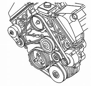 Please Help  What Is The Serpentine Belt Routing On A 2001