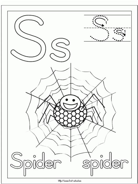itsy bitsy spider coloring page coloring home